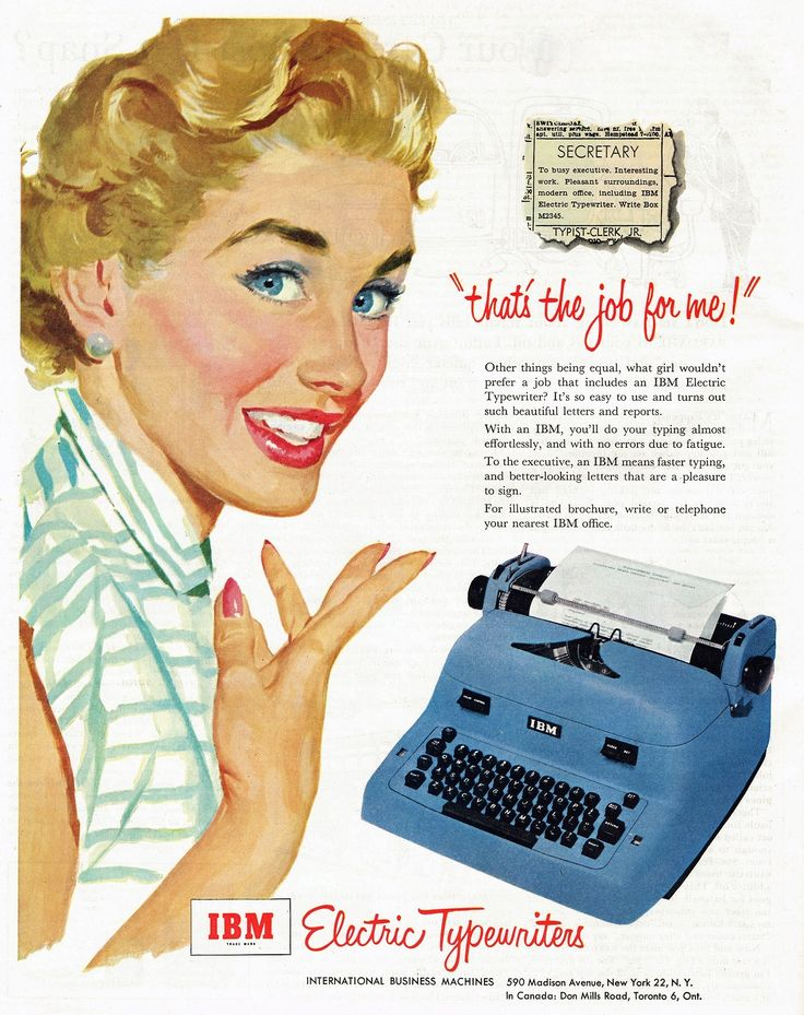 How long can your company stay relevant? IBM Electric Typewriters, 1953