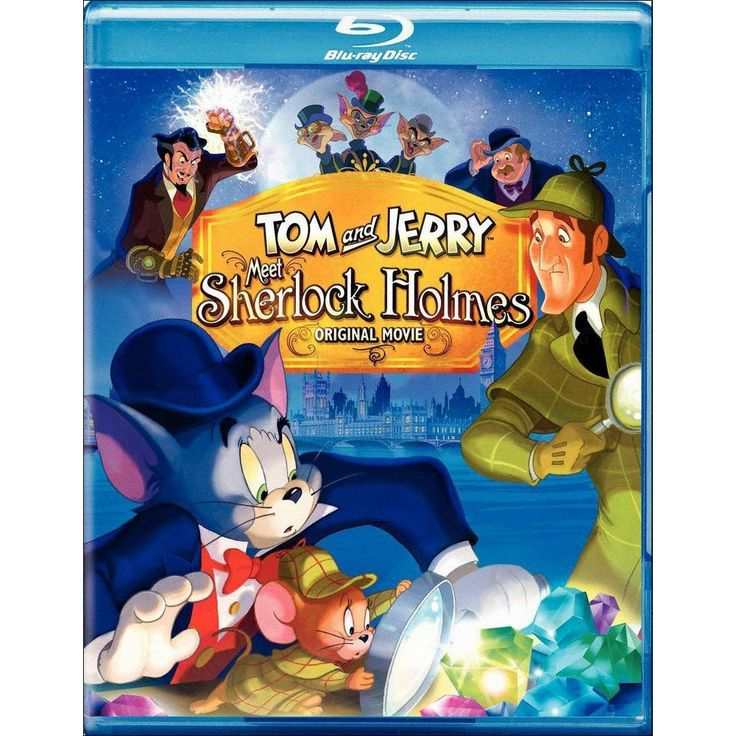 Tom Jerry Meet Sherlock Holmes Blu Ray 2010 In 2021 Tom And Jerry Tom And Jerry Movies Holmes Movie