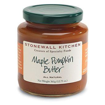 Maple Pumpkin Butter from Stonewall Kitchen