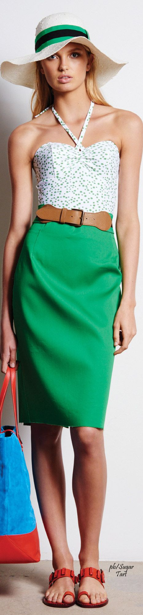 Tomas Maier Resort 2016 women fashion outfit clothing style apparel @roressclothes closet ideas