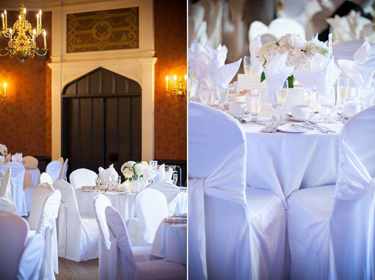 Old Mill Inn wedding reception decor