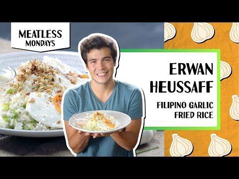 (138) Filipino Garlic Fried Rice l Meatless Mondays - Erwan Heussaff - YouTube