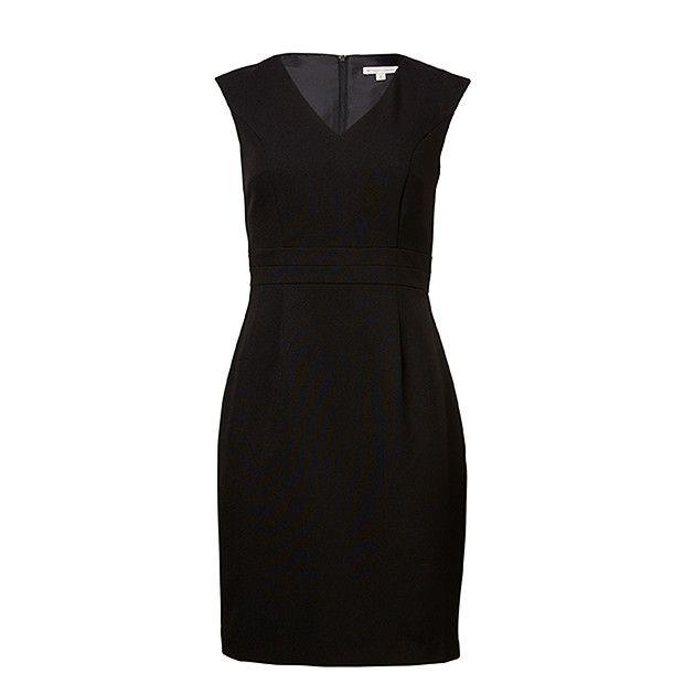 Split Waist Dress - Black