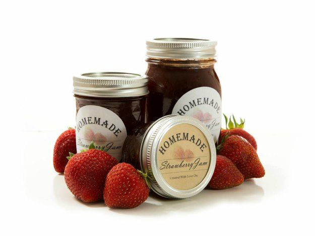 50 best canning labels images on pinterest canning for Jelly jar label template