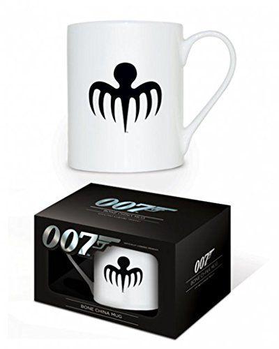 James Bond - Spectre Octopus Logo - New Official China Mug @ niftywarehouse.com #NiftyWarehouse #Bond #JamesBond #Movies #Books #Spy #SecretAgent #007