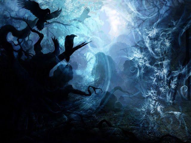 خلفيات داكنة عالية الدقة لاجهزة الكمبيوتر مداد الجليد Dark Fantasy Music Videos Fantasy