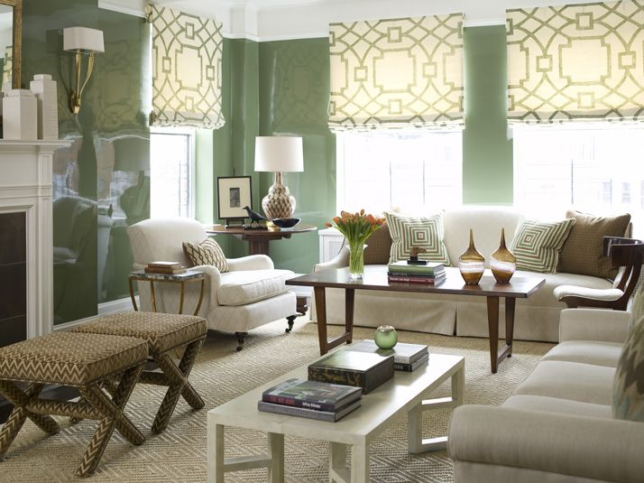174 best roman shades balloons images on pinterest roman curtains roman shades and window for Living room wall treatment ideas