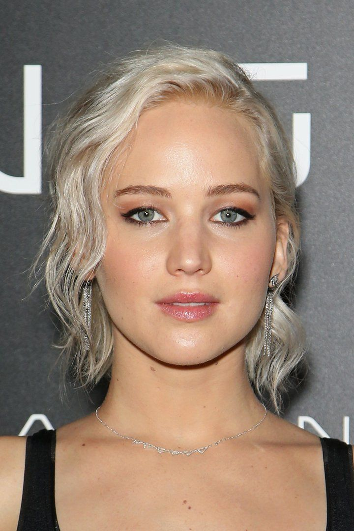 Pin for Later: Jennifer Lawrence Debuts New Icy White-Blonde Hair