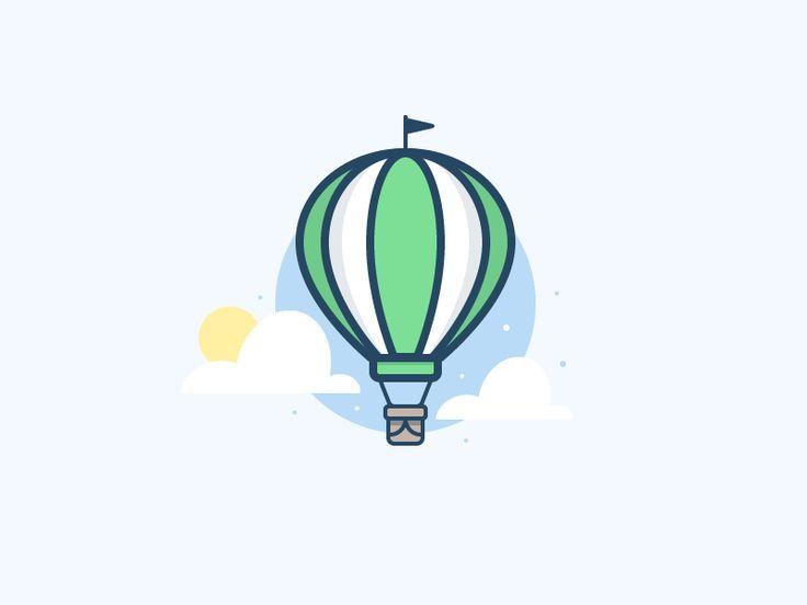 Hot Air Balloon 2 by Scott Tusk