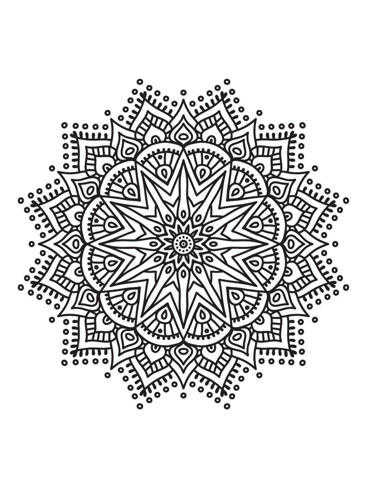 2442 Best Images About Mandala And Doodles On Pinterest