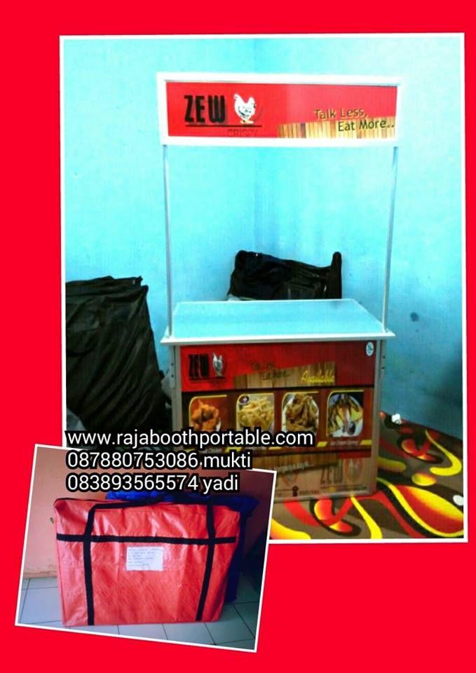 booth portable bisa bongkar pasang