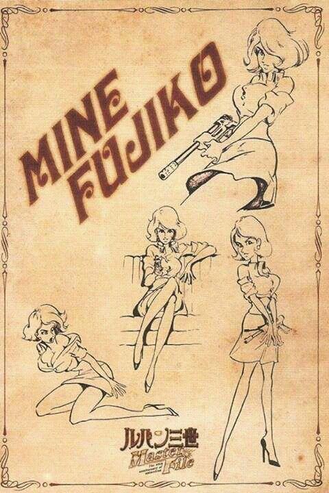 Manga design Fujiko