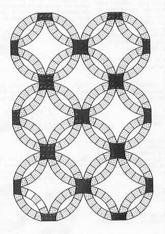double wedding ring quilt pattern - Double Wedding Ring Quilt Templates