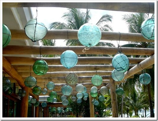 Glass Float Decorating Glass Floats Beach House Decor