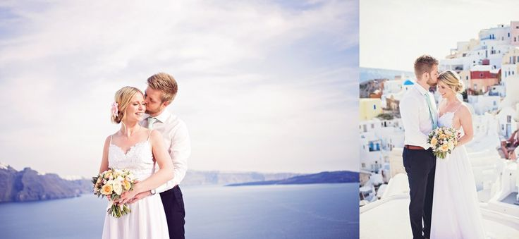 Oh honey photograph Jacqueline & Mattias Santorini Grekland