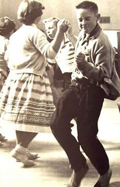 Jiving and dancing was something a lot of kids did in my generation. There were community dances because I didn't have siblings my Mom made sure kids in our neighborhood gathered at our place and we danced to the beat of our favorite 45 and long playing black vinyl records.