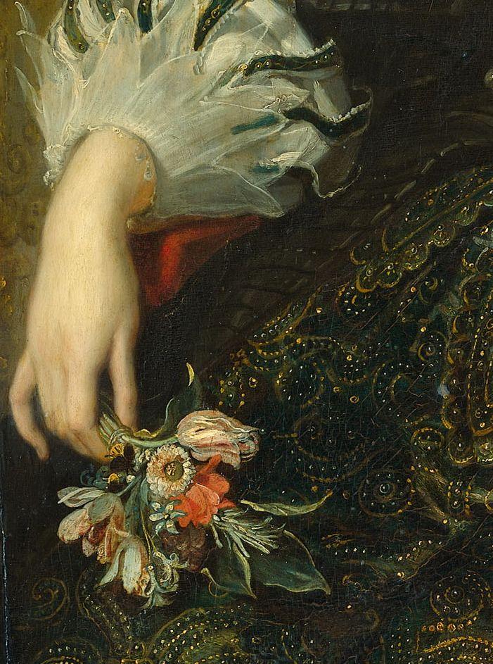 Peter Paul Rubens - Portrait of Anne of Austria, wife of Louis XIII, King of France (1625)
