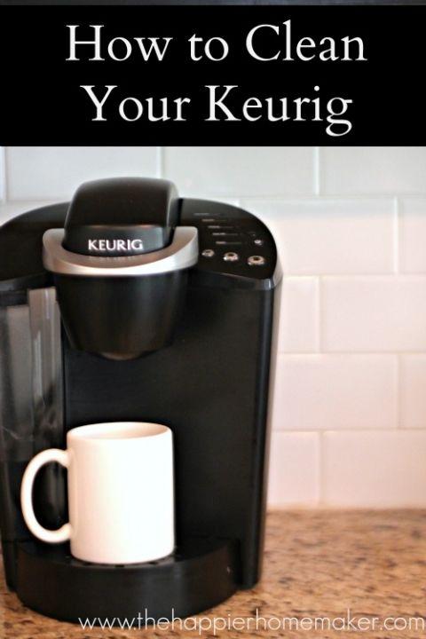 Best Coffee Maker Cleaner : Best 25+ Clean coffee makers ideas on Pinterest Descale keurig, 2 cup coffee maker and Keurig ...