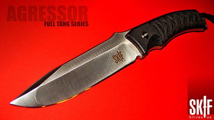Фултанг Агрессор - универсальный туристический EDC нож от SKIF knives