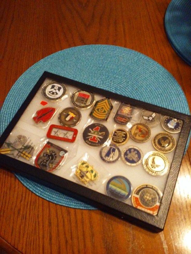 #Military #CHALLENGE #COINS..ASSORTED. #Collectibles / Art - #Forest, VA at #Geebo