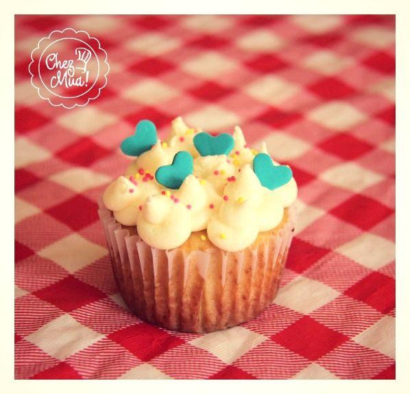 ¡Nubes de amor!   #cupcakes #repostería #Calico #pâtisserie