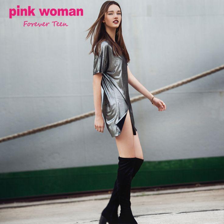 Η απόλυτη μεταλλιζέ εμφάνιση για την βραδινή σου έξοδο!! Shop online at https://www.pinkwoman-fashion.com/