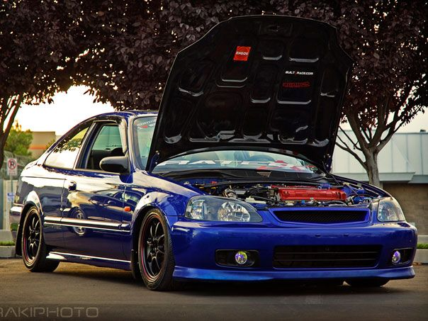 Pimped Out Honda Civic Si 17 Best images ...