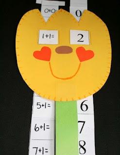 Oogalie Googalie Sliders - numbers/math
