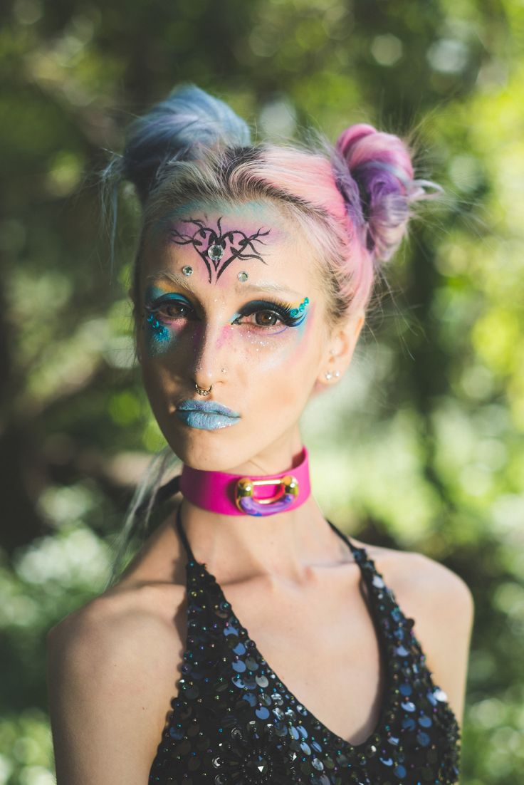 On either a pink or black synthetic leather strap, the In The Galaxy Choker is a beautiful & lovingly made choker. All centre pieces are hand-formed, so they vary slightly piece to piece...    http://www.tibbsandbones.com/products/in-the-galaxy-choker