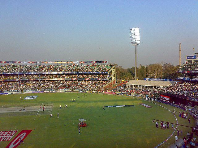 Feroz Shah Kotla Stadium, Delhi, India.