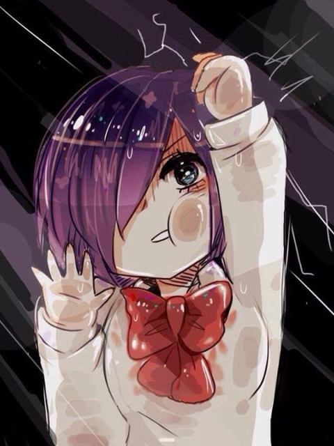 Touka | Tokyo Ghoul... what the hell are ya doing? e-e