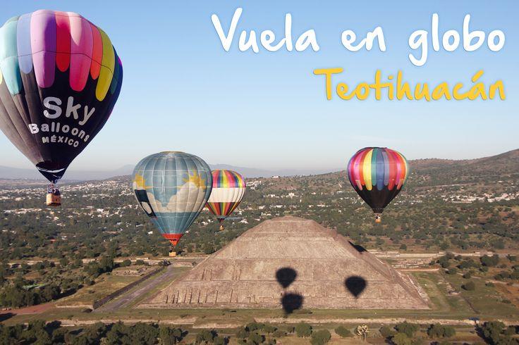 Ven y vuela en globo aerostatico en Sky Balloons sobre las pirámides de Teotihuacán, sin duda una experiencia que recordarás por siempre. Las mejores instalaciones en el mejor lugar y con los mejores precios hospedaje y tour en bici ideales para complementar este increible paseo en globo.