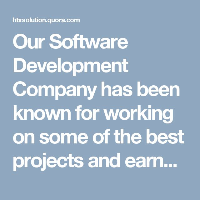 Our Software Development Company has been known for working on some of the best projects and earned a reputation of its own in the particular sphere. With the help of software analysts who specialize in producing design specifications in terms of using the efficient code.