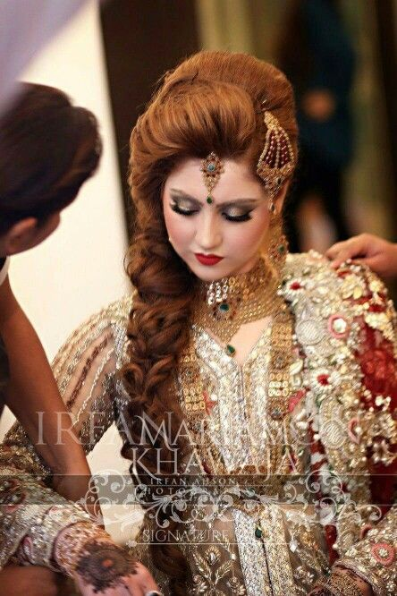 262 Best Bridal Hair For Indian Pakistani Brides Images On