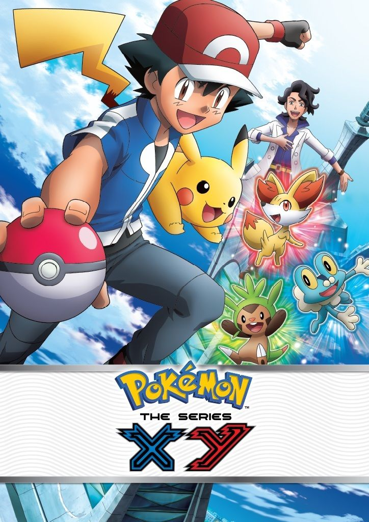 Pokemon XY Temporada 18 [Latino/Ingles/Japone] HD