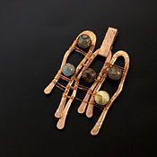 Купить Медный кулон Глаз Гора, украшение в стиле бохо - медный кулон