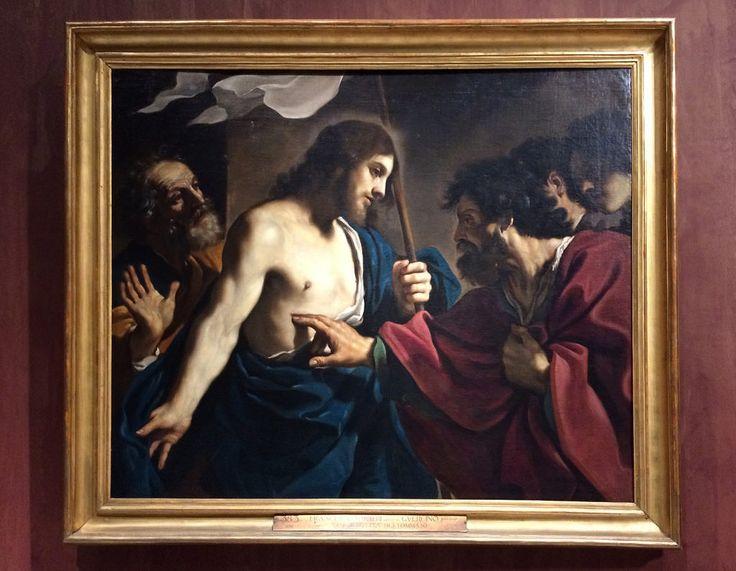 Аудиоэкскурсия и все картины выставки «Roma Aeterna». Часть 4: gorbutovich. Гверчино. Неверие святого Фомы. Около 1621. Музеи Ватикана.