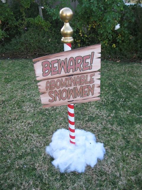 Beware! Abominable Snowman@pennfoster #bemorefestive #choosetobemorefestive