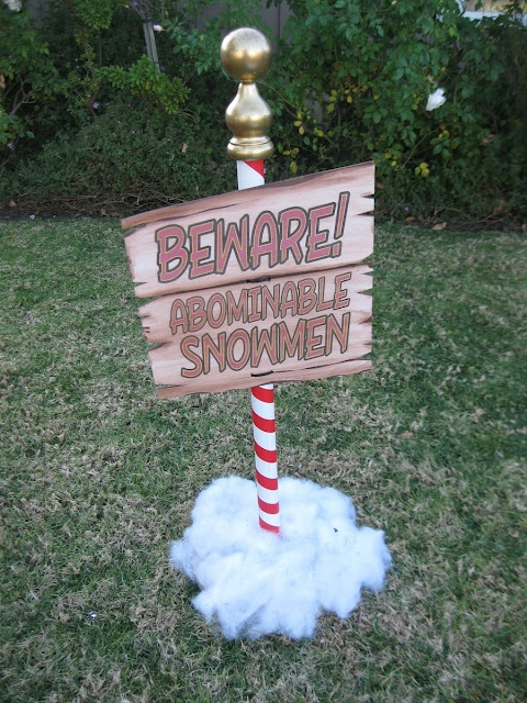 1000 ideas about the abominable snowman on pinterest for Abominable snowman outdoor christmas decoration