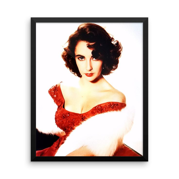 F1 - Framed photo paper poster - Elizabeth Taylor