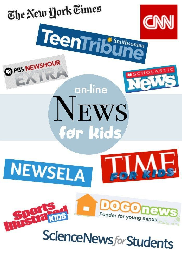 Online News for Kids- lessons and safe sources for kids to learn about global cu... 2