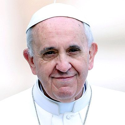 Pope Francis on Biography~Born in Buenos Aires, Argentina, on December 17, 1936, Jorge Mario Bergoglio became Pope Francis on March 13, 2013, when he was named the 266th pope of the Roman Catholic Church. Bergoglio, the first pope from the Americas, reportedly took his papal title after St. Francis of Assisi of Italy. Prior to his election as pope, Bergoglio served as archbishop of Buenos Aires from 1998 to 2013 (succeeding Antonio Quarracino),