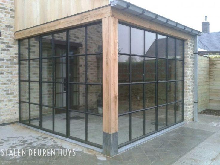 Authentieke stalen deuren en ramen project Tuinkamer