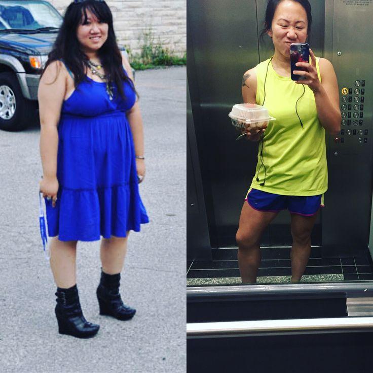 "F/27/5'0"" [200 lbs > 138 lbs = 60 lbs] (1 year) aka how a couch potato becomes a marathoner/climber/gymrat Found at http://ift.tt/1Zaxn0j - read more weight loss tips at http://ift.tt/1OVM97D"