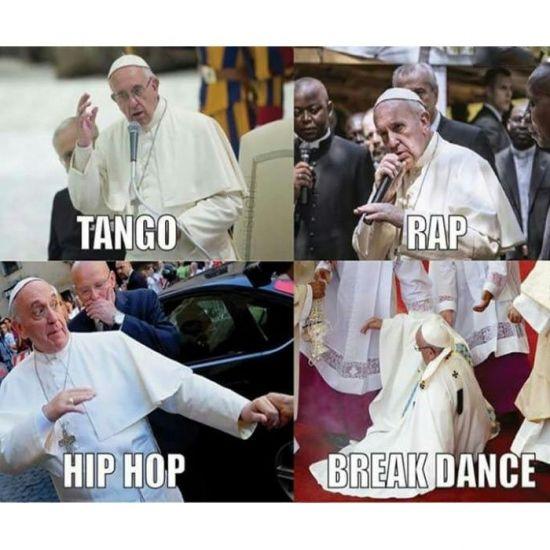 El mejor Papa de la historia        Gracias a http://www.cuantocabron.com/   Si quieres leer la noticia completa visita: http://www.estoy-aburrido.com/el-mejor-papa-de-la-historia/