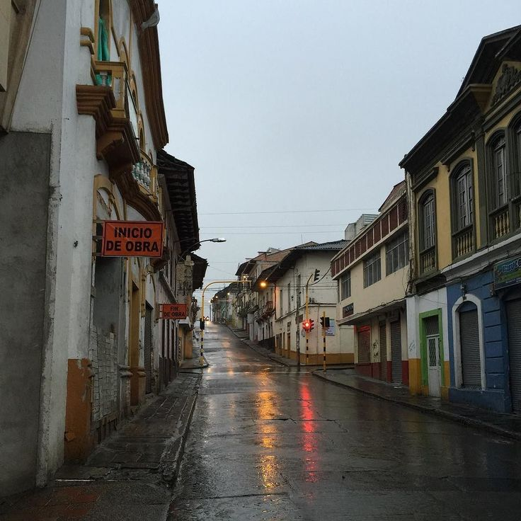 Empty early morning streets in Pasto #Colombia #CRSMedia new from my @lisahendey Instagram