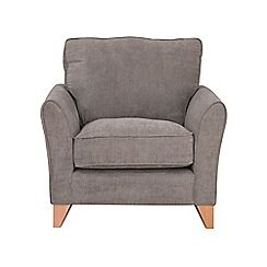 Debenhams - Velour 'Fyfield' armchair