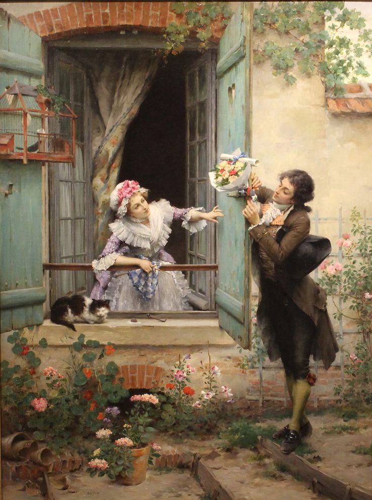 Pierre Outin's Oil Painting - Art Decor Gallery