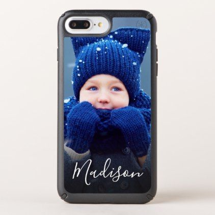 Create Your Own Family Photo Monogram Speck iPhone Case - create your own gifts personalize cyo custom