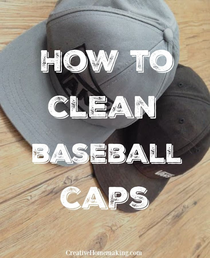 How To Clean Baseball Caps In 2020 Cleaning Hacks House Cleaning Tips How To Wash Hats